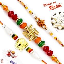 Set of 3 Divine Rakhi