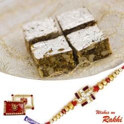 Anjeer Sugar Free Sweet with FREE 1 Bhaiya Rakhi
