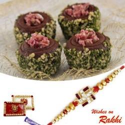 Chocolate Sweet with FREE 1 Bhaiya Rakhi