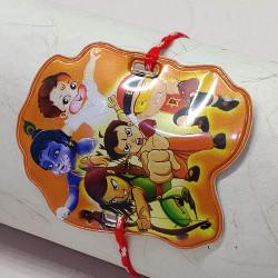 All in One Cartoon Character Motif Kids Rakhi