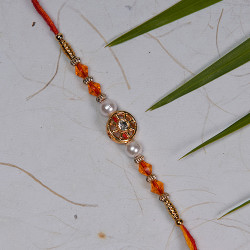 AD Beads and Pearls Rakhi