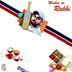 Amazing Virat Kohli Colourful Kids Rakhi