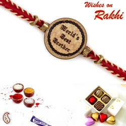 Worlds Best Brother Sweet Kids Rakhi