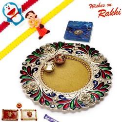 16 Pc Ferrero Rocher Box with 2 Bhaiya Rakhi