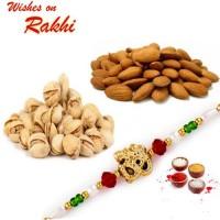 Rakhi with Dryfruits