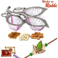 Rakhi with Dryfruits