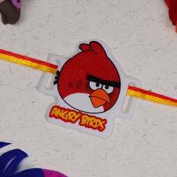 Attractive Angry Birds Kids Rakhi