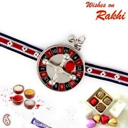 Beautiful Circular Motif Kids Rakhi