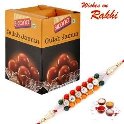 Bikano Gulab Jamun Pack with Bhaiya Rakhi