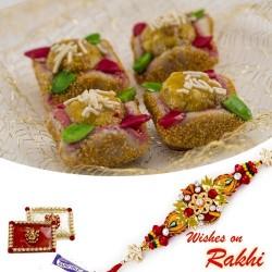 Bombay Rangila Sweet with FREE 1 Bhaiya Rakhi