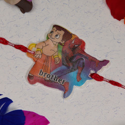 Chhota Bheem and Spiderman Kids Rakhi
