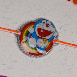 Cute Doraemon Multicolor Kids Rakhi