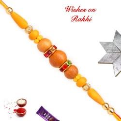 Fancy Beads Work Rakhi