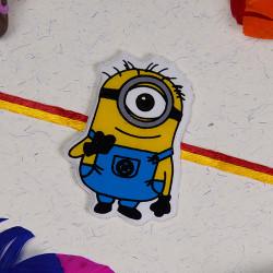 Funny Minion Kids Rakhi