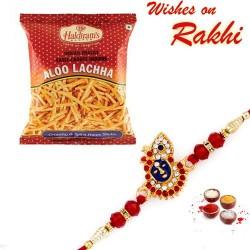 Haldiram's Aloo Lachha Namkeen with Bhaiya Rakhi