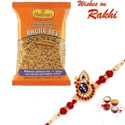 Haldiram's Bhujia Sev Pack with Bhaiya Rakhi