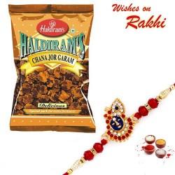Haldiram's Chana Jor Garam Pack with Bhaiya Rakhi