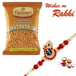 Haldiram's Chatpat Dal Namkeen with Bhaiya Rakhi