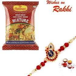 Haldiram's Mixture Namkeen Pack with Bhaiya Rakhi