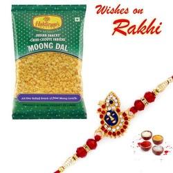 Haldiram's Moong Daal Namkeen with Bhaiya Rakhi