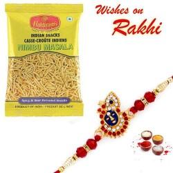 Haldiram's Nimbu Masala Namkeen with Bhaiya Rakhi