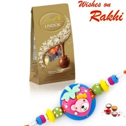 Lindt Lindor Assorted Chocolate with Kids Rakhi