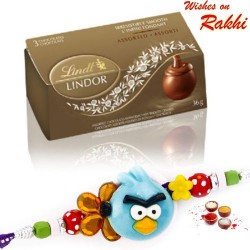 Lindt Lindor Assorted Chocolates with Kids Rakhi