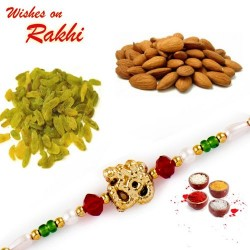 Lovely Rakhi Hamper with Dryfruits