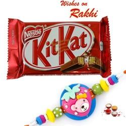 Nestle Kitkat Pack with Kids Rakhi