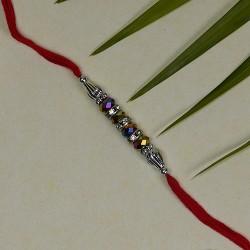 Dazzling Multicolor Beads Rakhi