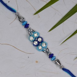 AD with Coloring Beads Rakhi